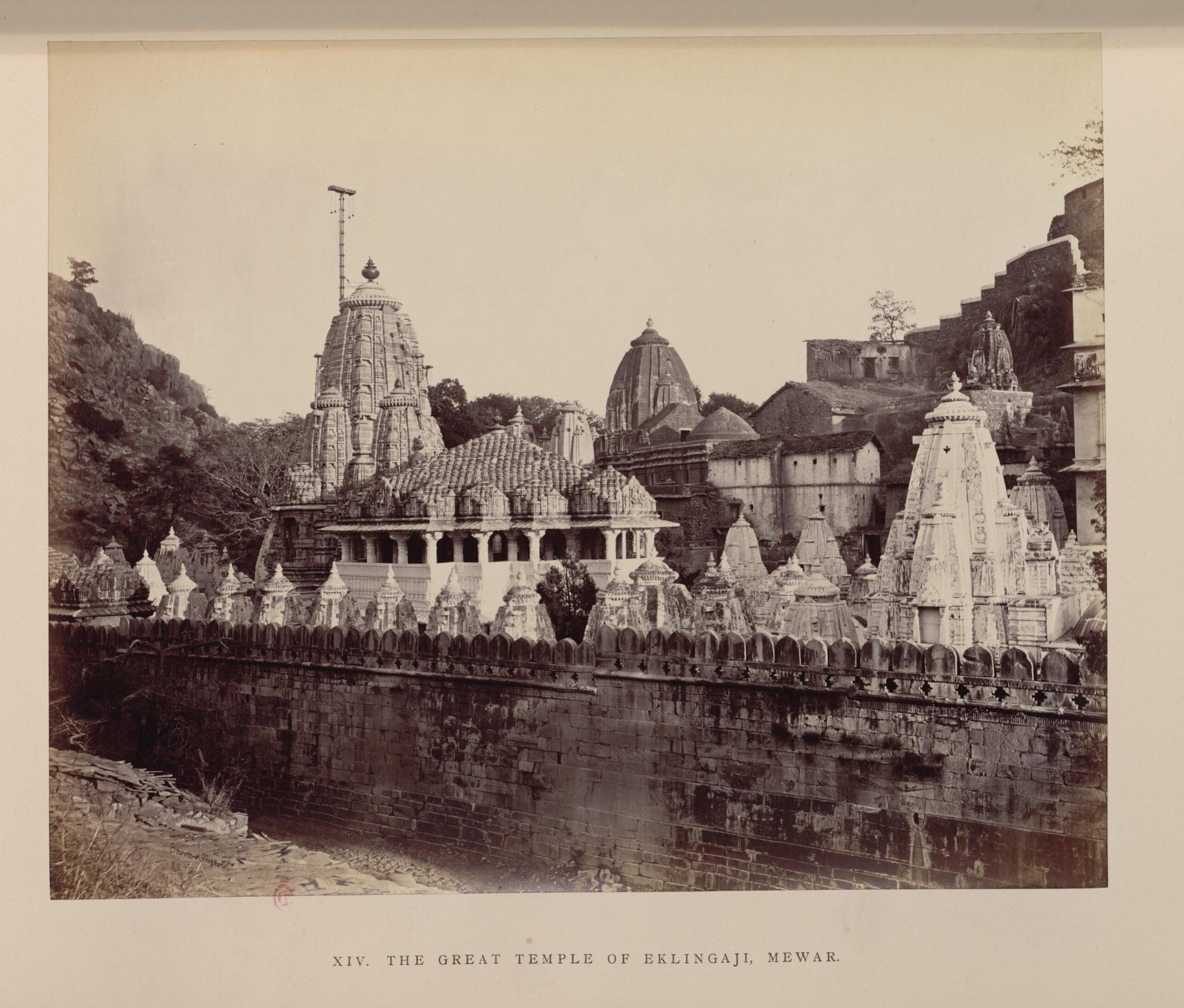 Мевар. Великий храм Эклинджи