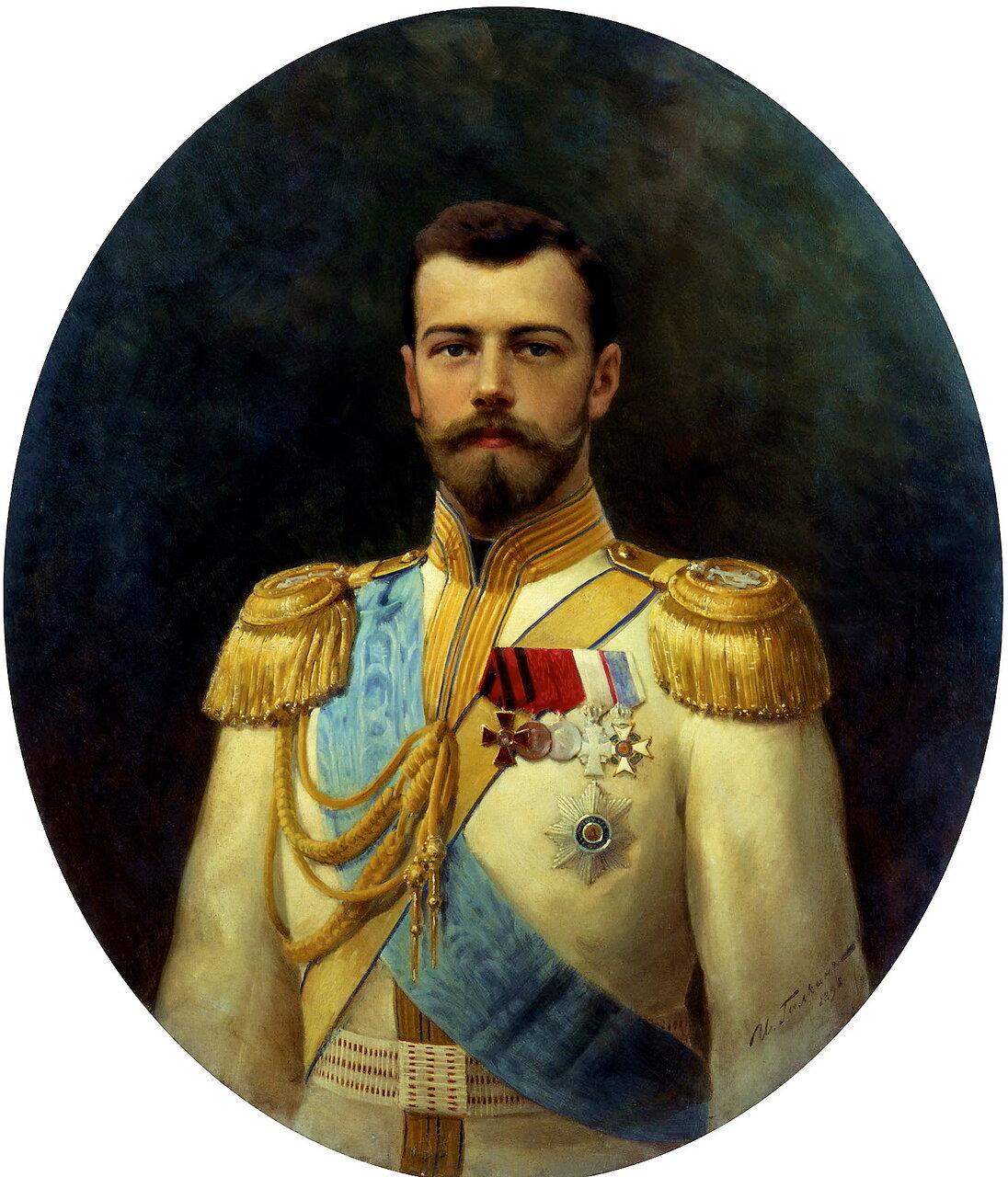 Илья Галкин (1860-1915). Император Николай II, 1898