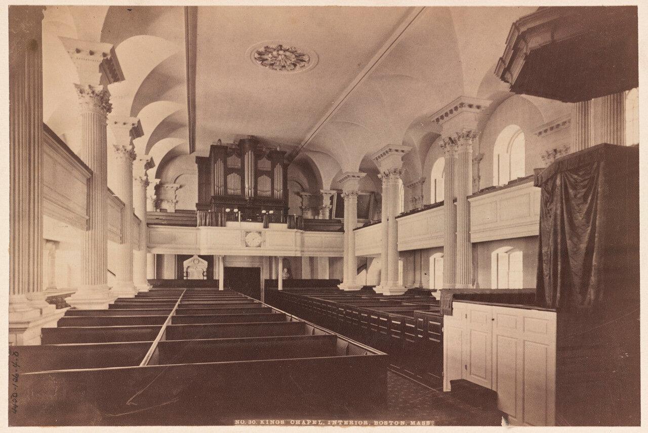 1911. 26 января.  Внутренний вид Королевской Часовни
