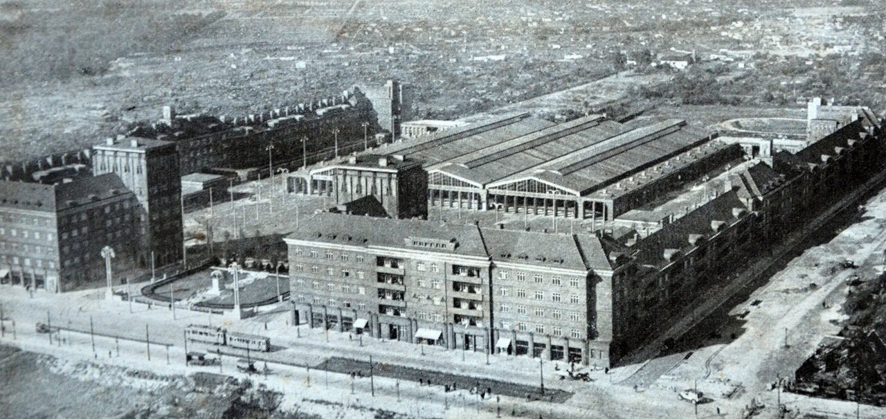 Берлин. Трамвайное депо. 1933