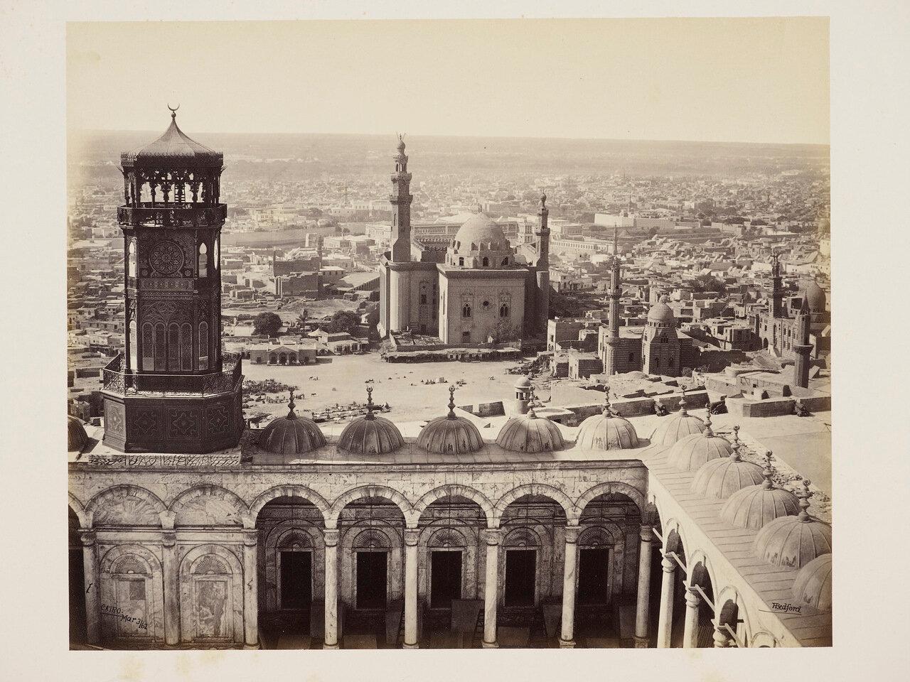 3 марта 1862. Вид с мечетью Мухаммеда-Али. Каир