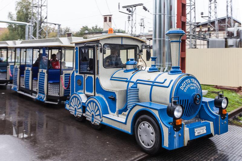 Поезд в Ромашково