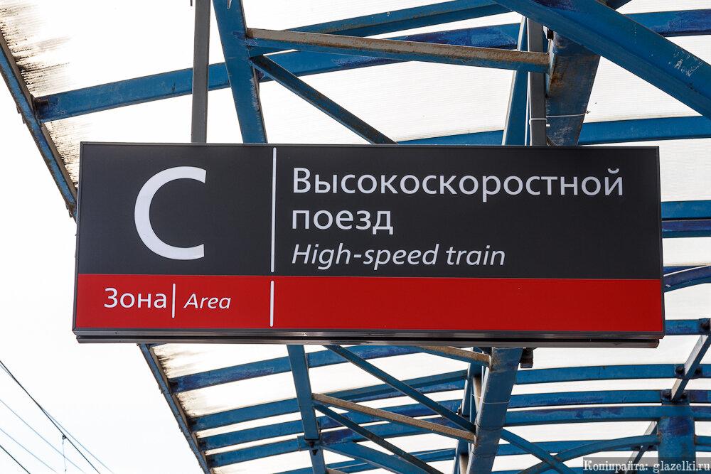 Высокоскоростной поезд.