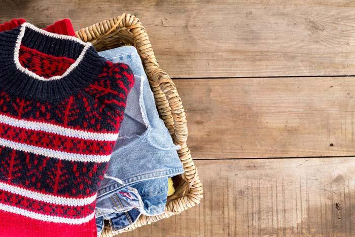 вещи в зимнем гардеробе