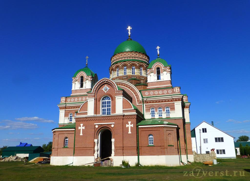 Собор Иконы Божией Матери Владимирская в Троекуровском Дмитриевском монастыре