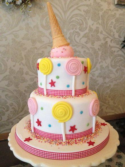 Торт на день рождения ребенку без мастики своими руками