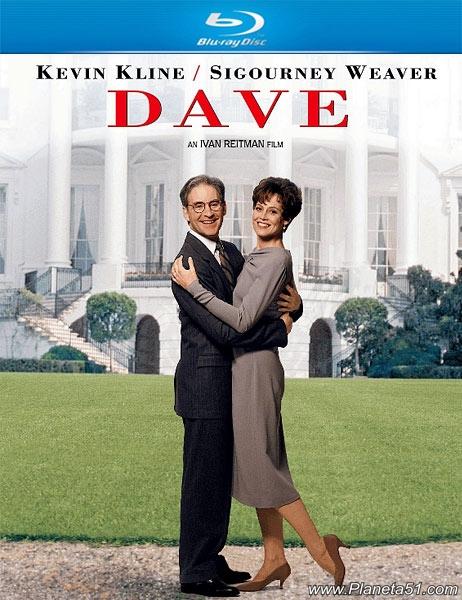 Дэйв / Dave (1993/BDRip/HDRip)