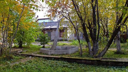 Фото города Инта №5884  Бывший фонтан, расположенный между домами 13 и 15 по улице Кирова 15.09.2013_12:55