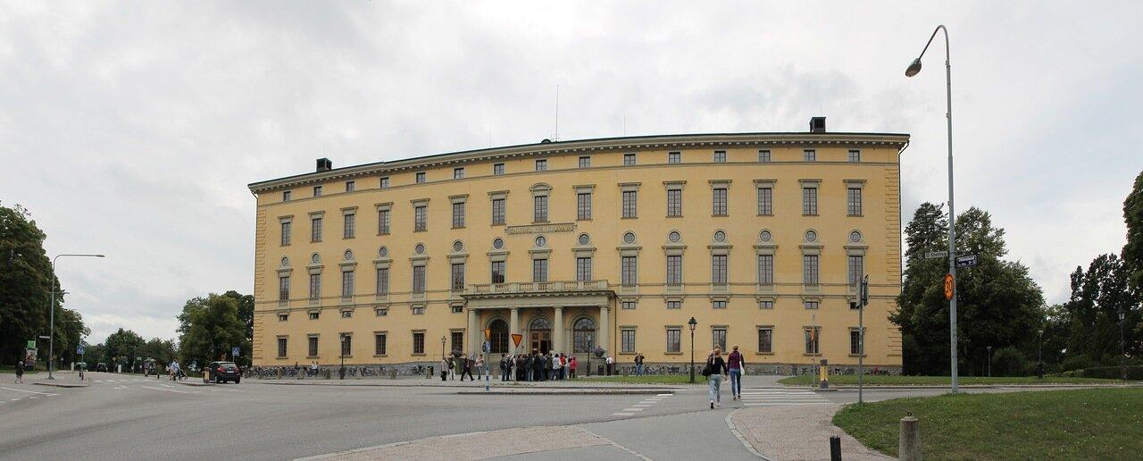 Уппсала. Библиотека университета. Uppsala University Library. Carolina Rediviva