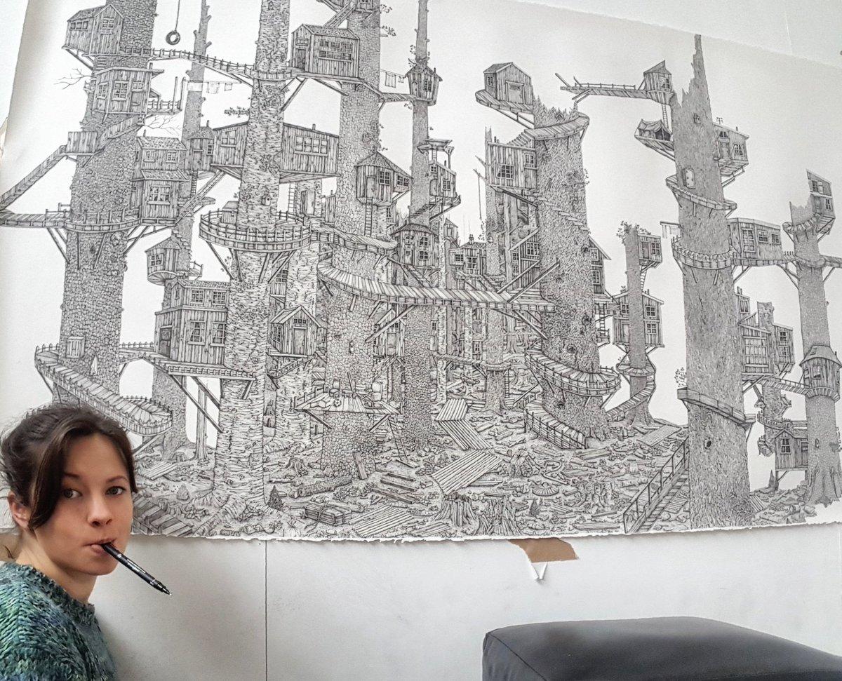 «Я рисую не только чтобы понять пейзаж, но и чтобы переосмыслить и переделать его. Я создаю миры и в