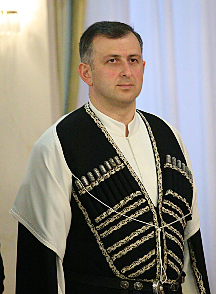 Зураб Патарадзе и Нурсултан Назарбаев