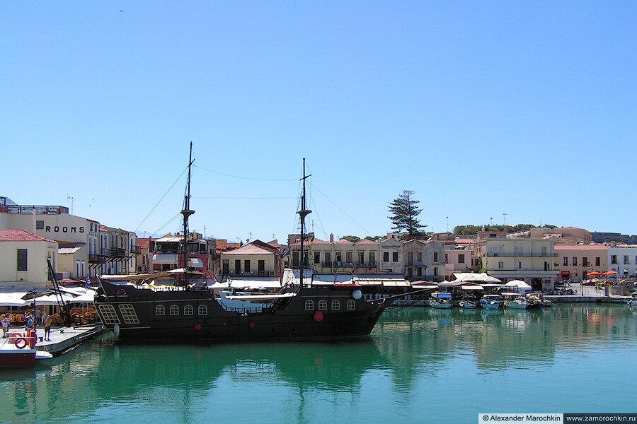 Ретимно, венецианский порт