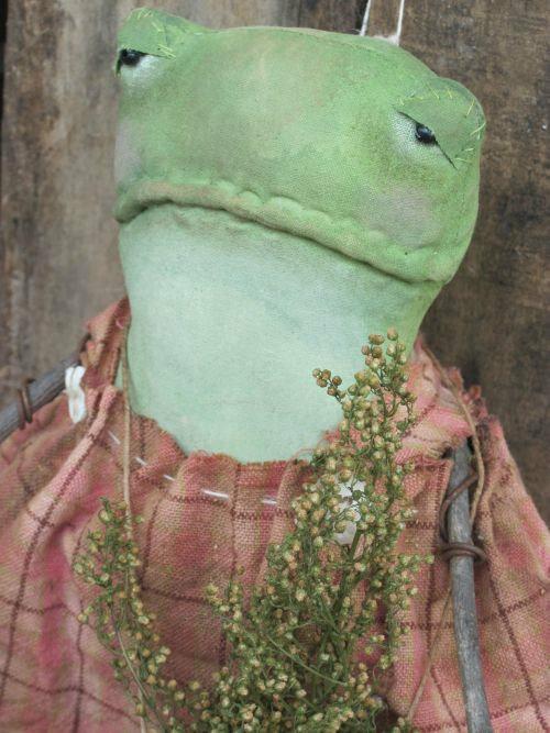 примитивчик лягушка