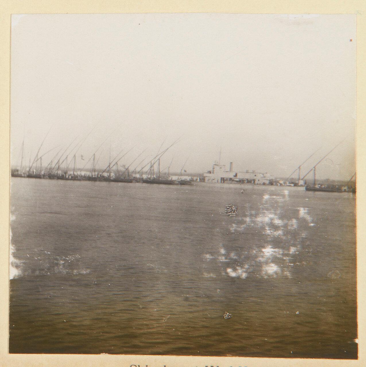 Август 1898. Корабли у Вад Хамида