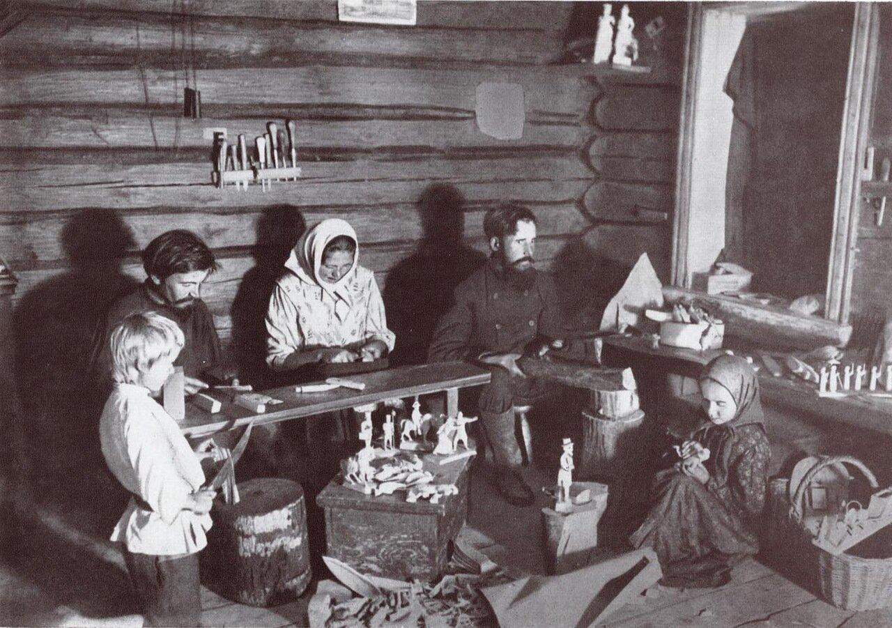 Игрушечники. Начало XX в. Владимирская губерния