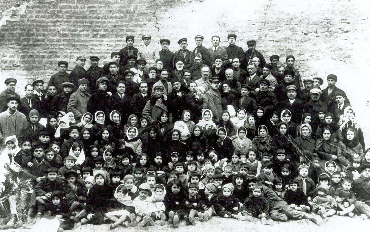 1927. Первый съезд бахаитов Азербайджана. Баку,