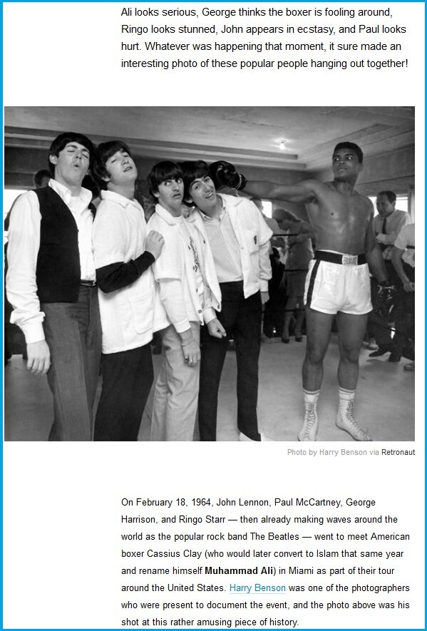 Muhammad Ali  punching The Beatles. Мохаммед Али наносит удар Битлам.jpg