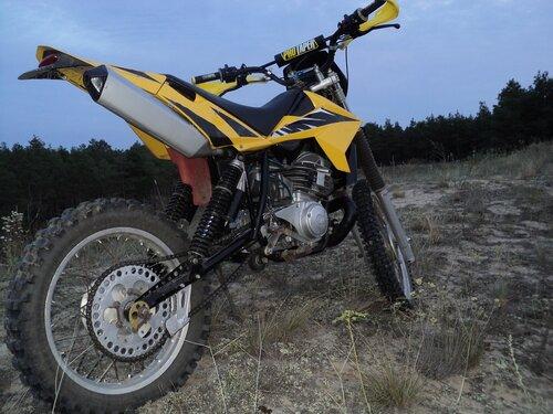 Мотоциклы эндуро своими руками 41