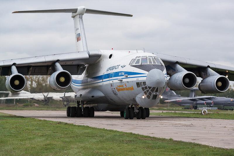 Ильюшин Ил-76М (RA-86875) ВВС России D802636