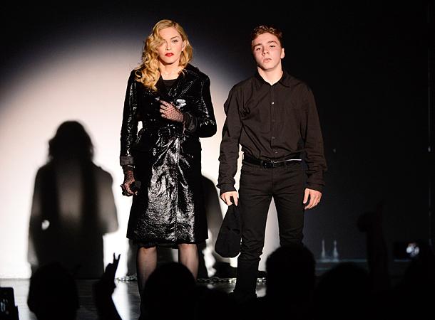 Мадонна в «черном списке» у своего сына