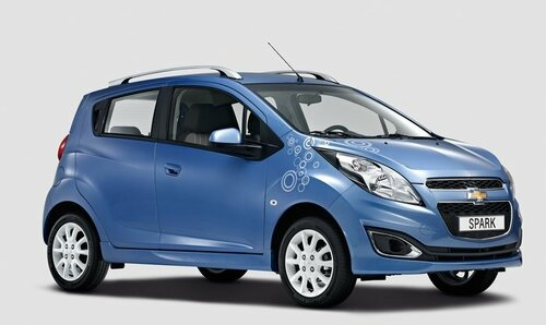 Chevrolet Spark Bubble: Европа уже может его купить