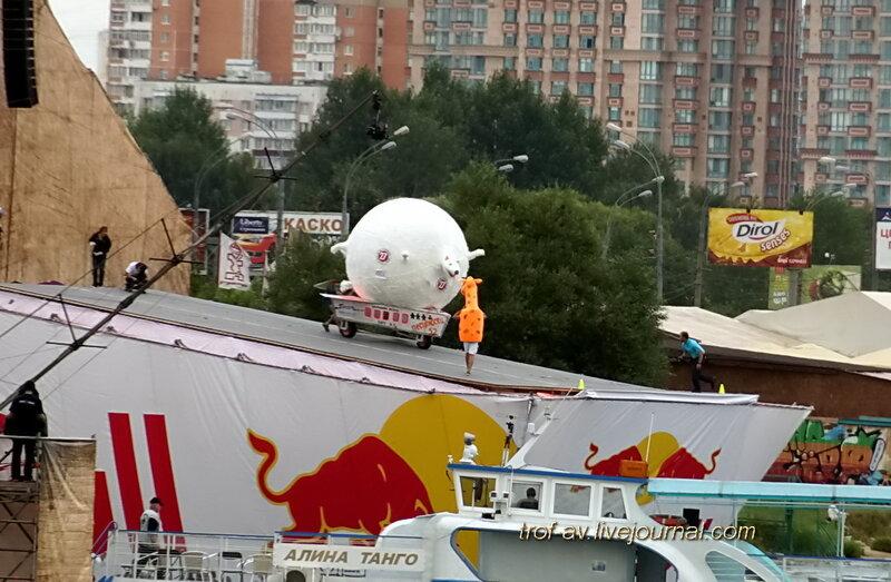Полный писец, Red Bull Flugtag 2013, Москва