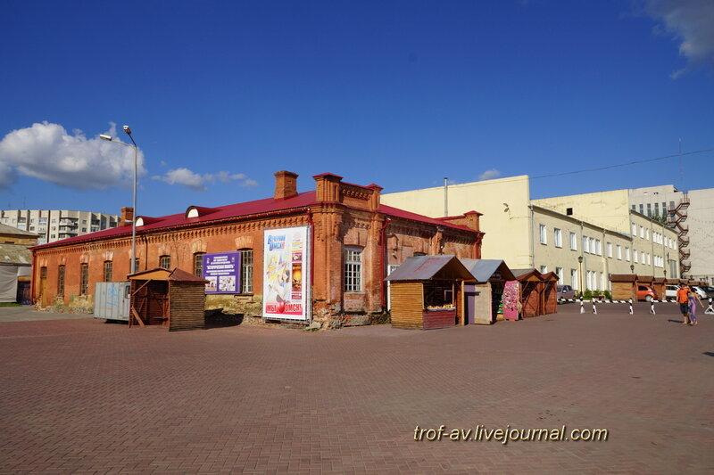 Кухня и столовая резервного батальона, историко-культурный комплекс Старая крепость, Омск