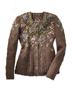 Жакеты с вышивкой от Gorsuch