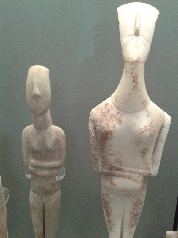 Загадочные кикладские женщины