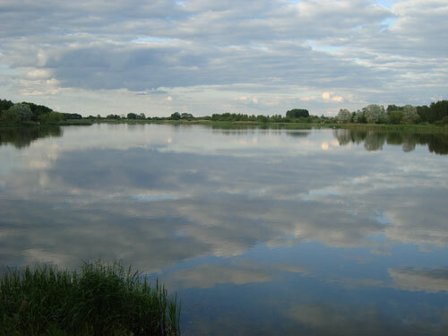 Отдых в Беларуссии: Несвижский замок, небо