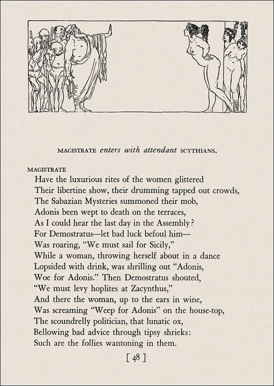 Norman Lindsay, Aristophanes, Lysistrata