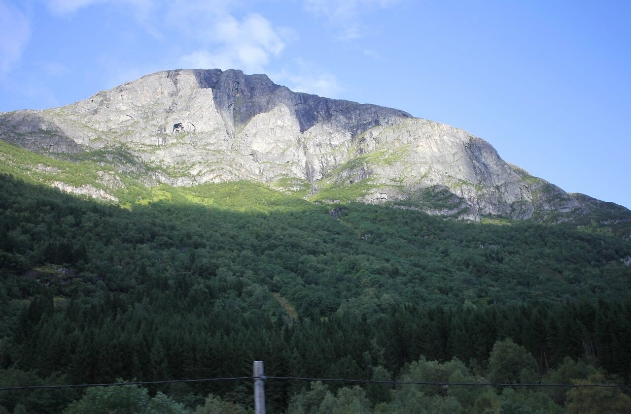 Горы Западной Норвегии. Mountain of Western Norway