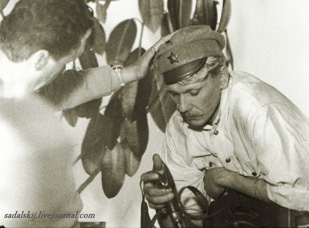 """""""Белое солнце пустыни"""", 1969 год. Сухов - Георгий Юматов"""