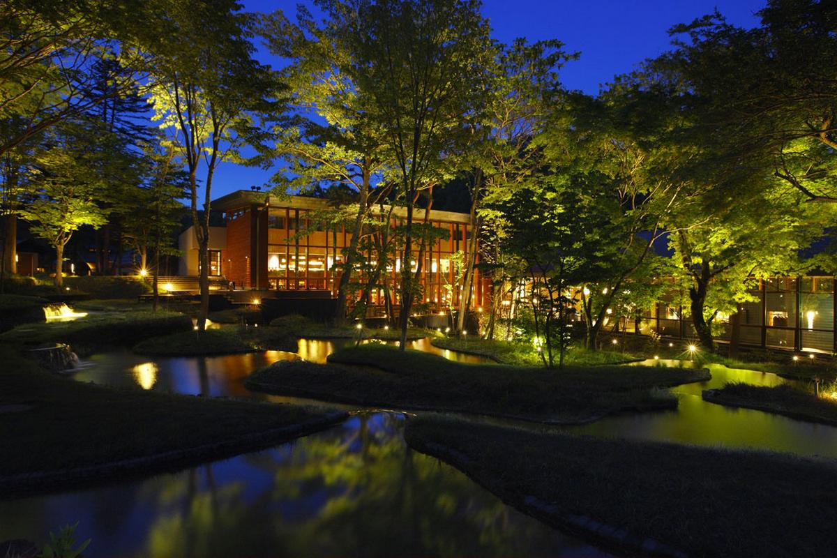 Hoshinoya Karuizawa, отель в Японии, отели в Нагано, spa отель, лучшие отели в Японии, дизайн отеля, лучшие отели мира, фото отелей, обзор отеля