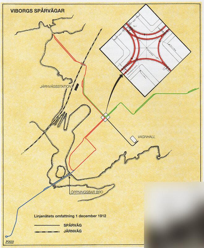 Схема линий Выборгского