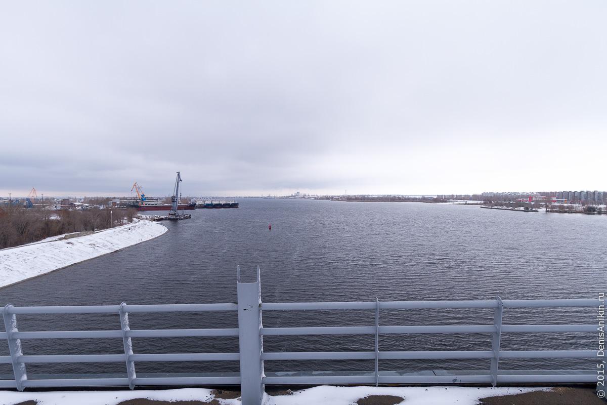 Мостовой переход через судоходный канал в Балаково 6