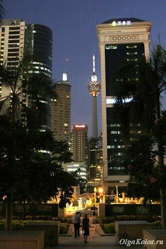 Вечерний Куала-Лумпур