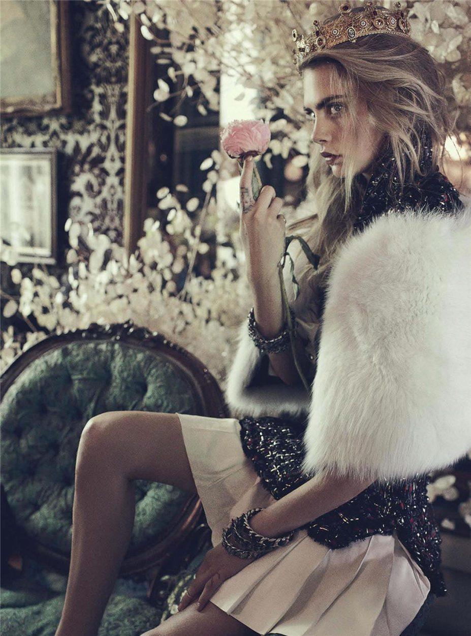 Кара Делевинь / Cara Delevingne by Benny Horne in Vogue Australia october 2013