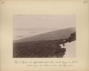 Вид на близлежащие горы и южную сторону Луджартина