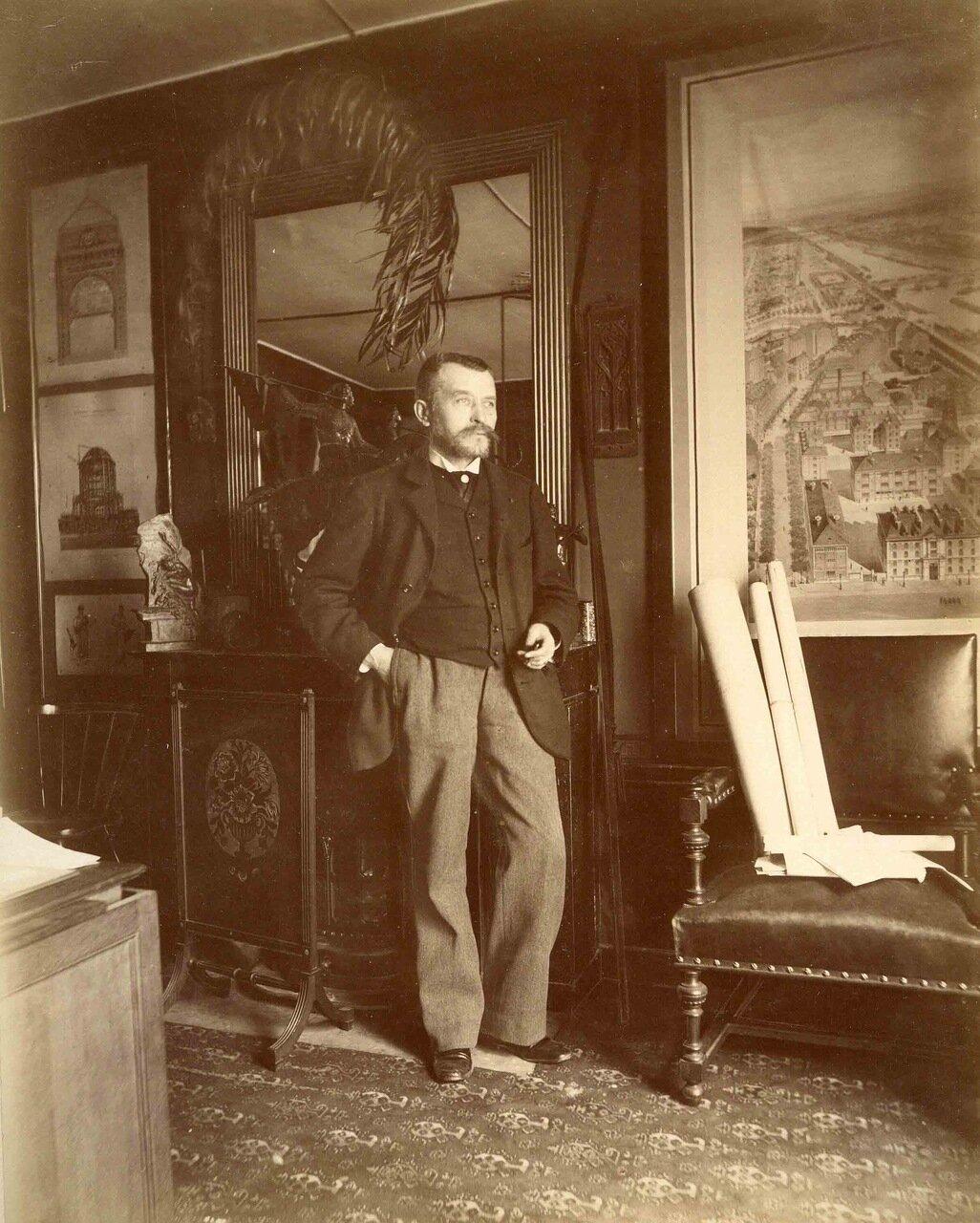 Жозеф-Антуан Бувар (1840 - 1920), архитектор
