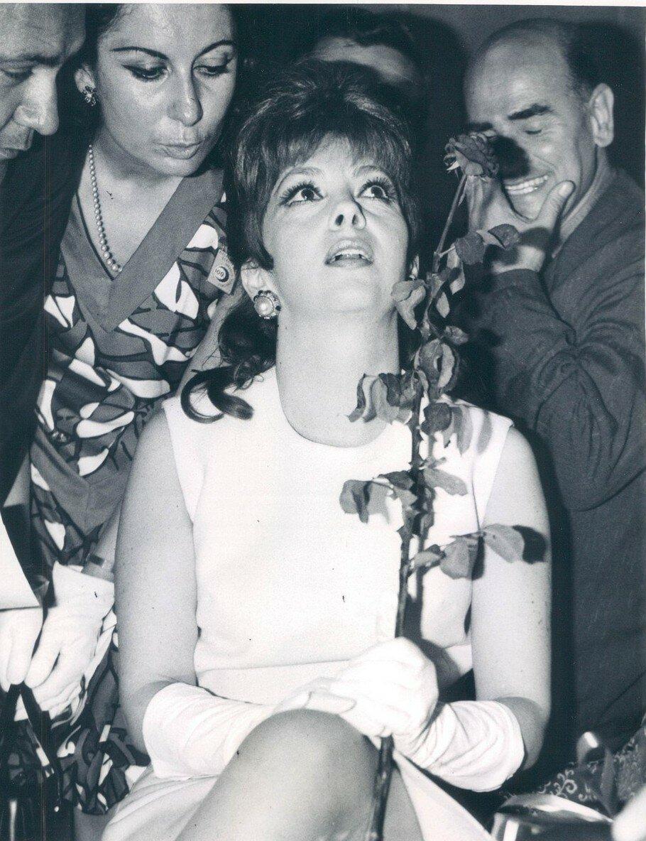1968. Джина Лоллобриджида