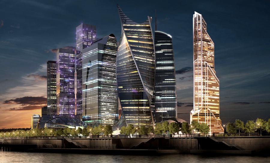 Башня «Восток» станет самой высокой в Европе