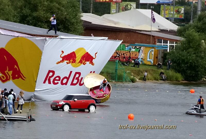 Килька в томате, Red Bull Flugtag 2013, Москва