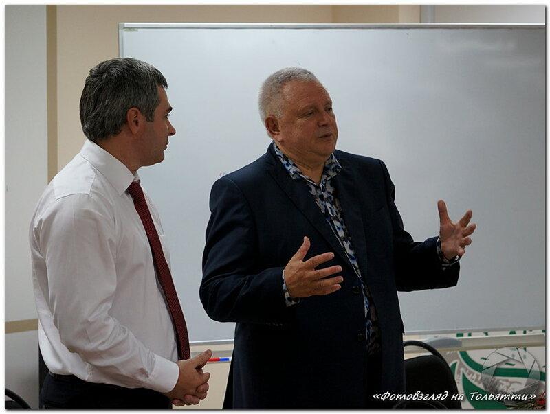 Лекция Константина Титова в бизнес-инкубаторе Тольятти