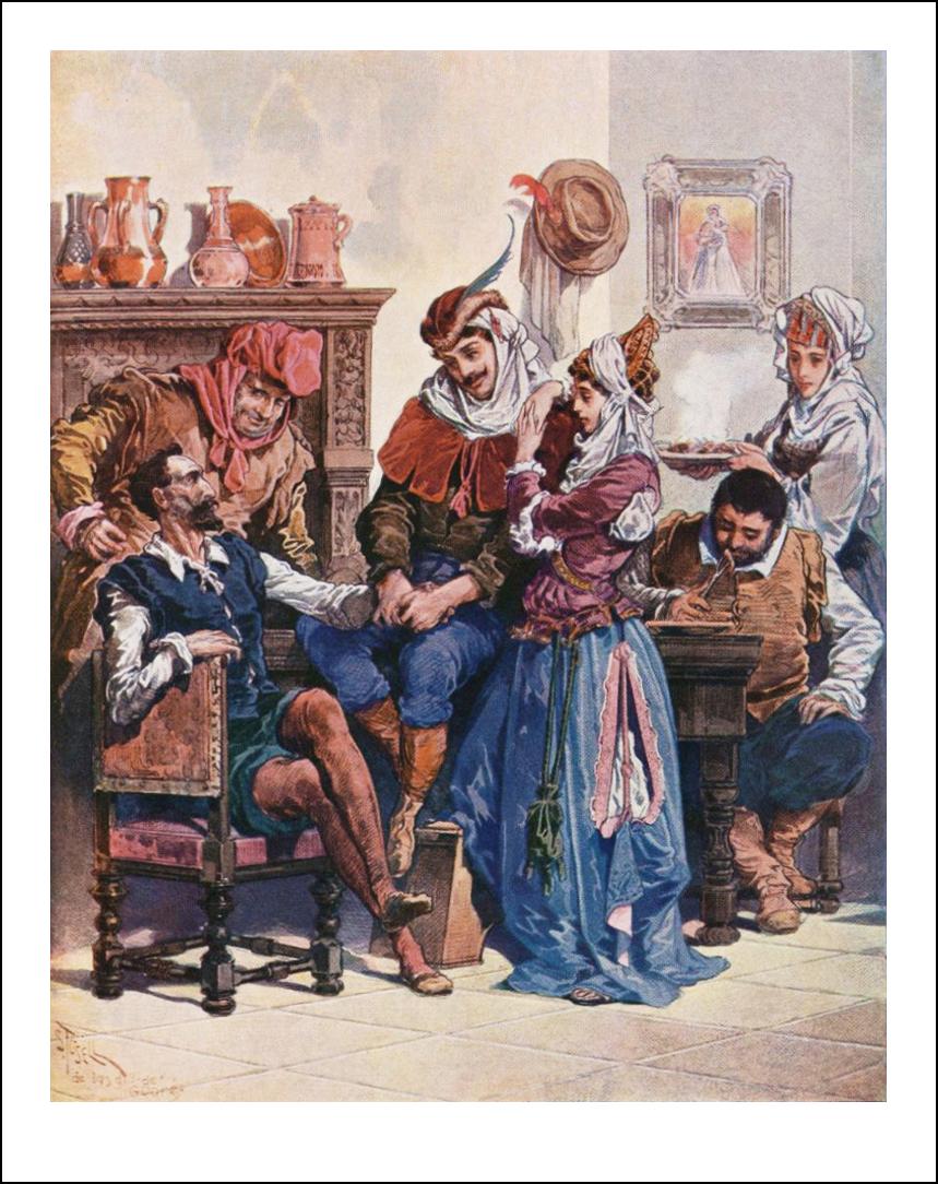 Gustave Doré, Salvador Tusell Graner, A. Audet, Don Quijote