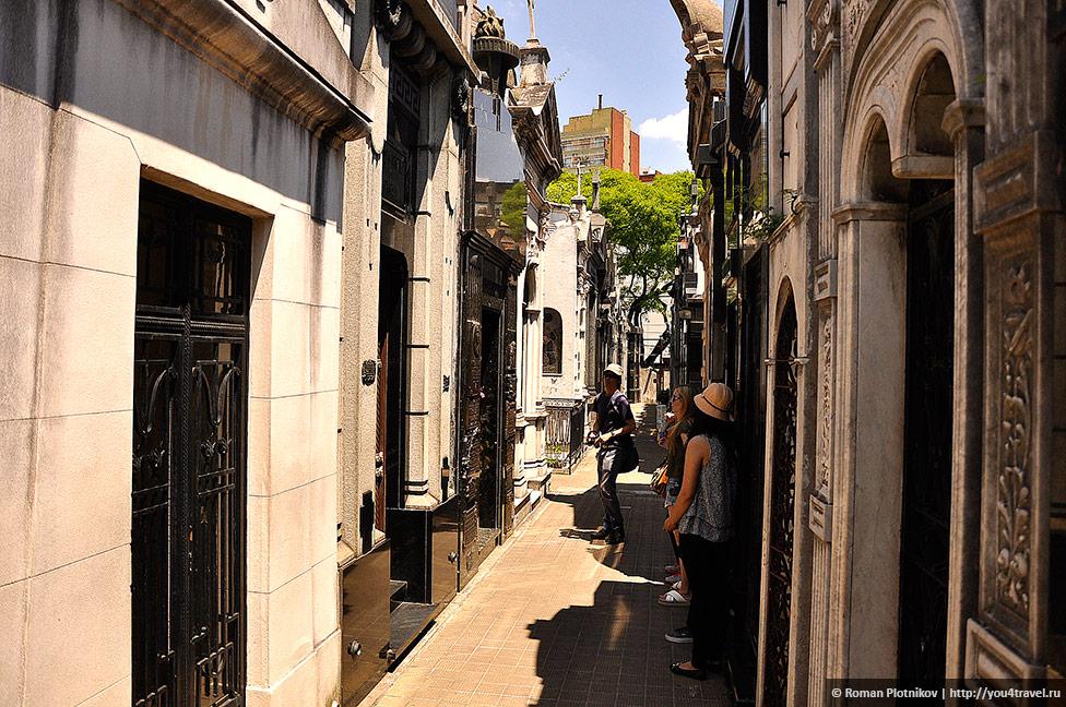 0 3c6cf9 8c26c20b orig День 415 419. Реколета: фешенебельный район и знаменитое кладбище Буэнос Айреса (часть 1)
