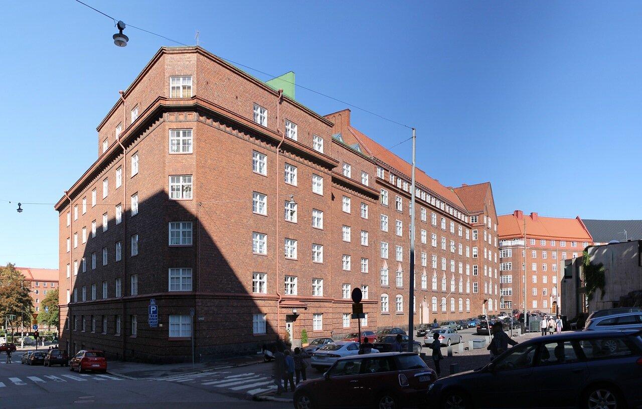 Хельсинки. Площадь Sammonpuistikko