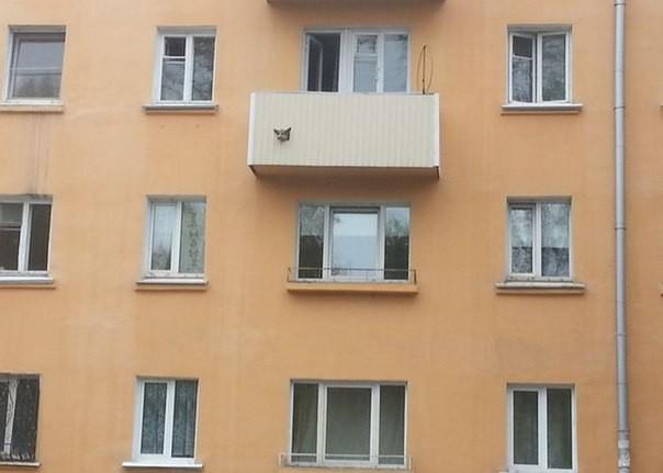 Беспощадные русские балконы