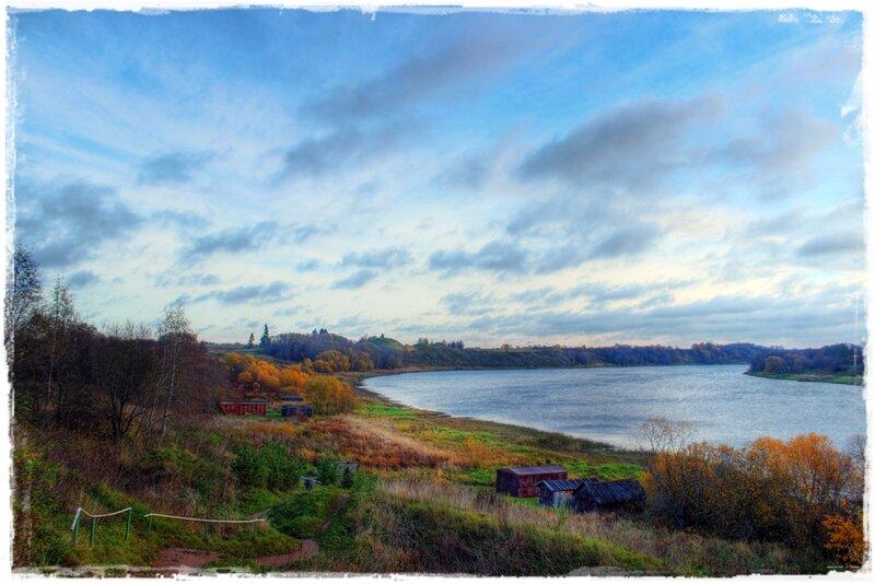 Река Волхов.