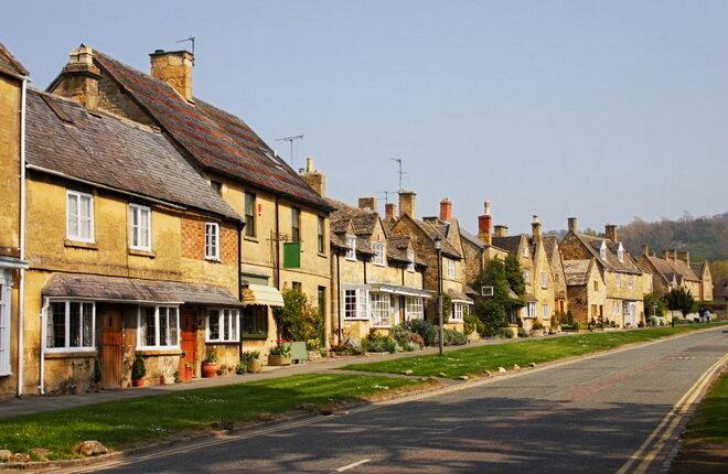 Деревня Бродвей. Великобритания